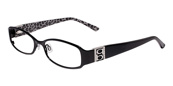 View Actual Image Size for: Bebe BB5026 Eyeglasses, Frames