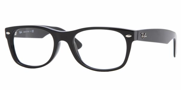 View Actual Image Size for: Ray-Ban RX 5184 WAYFARER Eyeglasses, Frames
