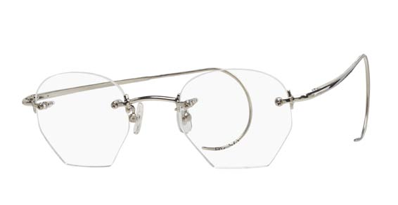 Rimless Hexagon Eyeglasses - Shop Rimless Eyeglasses in ...