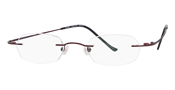 Rimless Eyeglasses With Magnetic Sunglasses : rimless eyewear with magnetic sunglass