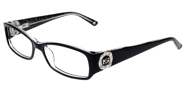 Bebe Envy Eyeglass Frames : Bebe Plastic Semi-Rectangle Eyeglasses - BB5042 Demure ...