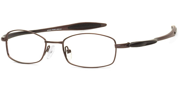 Image for Konishi Flex Titanium  KF8545 Wrap-Around Eyeglasses