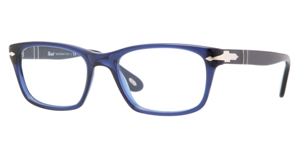 PERSOL Eyeglasses PO 3012V 181 Blue 52MM
