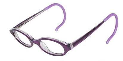 Titanium Eyeglass Frames Cable Temples : BLACK ROUND CABLE TEMPLE EYEGLASS FRAMES Glass Eyes Online