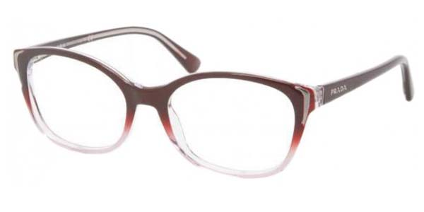 PRADA Eyeglasses PR 13OV ZXM1O1 Cherry 52MM