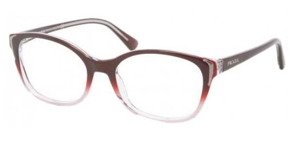 PRADA Eyeglasses PR 13OV ZXM1O1 Cherry 52MM