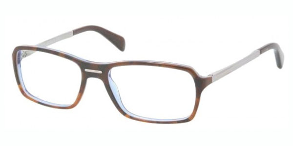 PRADA Eyeglasses PR 15NV CAJ1O1 Dark Tortoise 56MM
