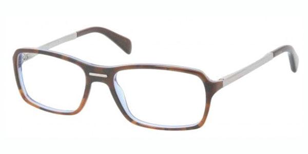 PRADA Eyeglasses PR 15NV CAJ1O1 Dark Tortoise 56MM