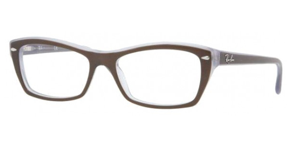 RAY BAN Eyeglasses RB 5255 5076 Brown 51MM