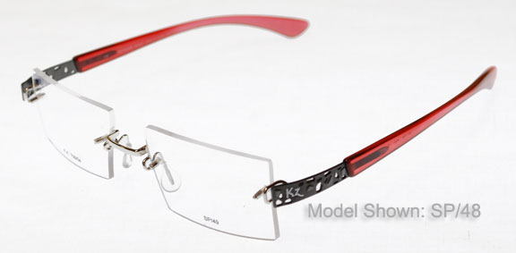 KAWASAKI RIMLESS EYEGLASSES Glass Eye