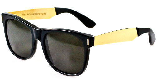 Image for Super  Basic Francis black/yellow gold 202 Sunglasses
