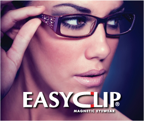 Easyclip OLIVER COUNTRY COLLECTION UNISEX Metal Eyeglasses