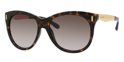 Jimmy Choo Mila Sunglasses  jimmy choo prescription able semi cat eye sunglasses ally s