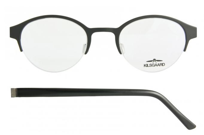 Mens Round Eyeglasses - 1-FC01, 101, 103, 116, 12KT Quadra ...