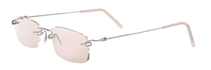 Rimless eyeglasses kawasaki
