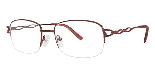 Modern Times Rimless Eyeglasses - Benefit, Blazer, Crystal ...