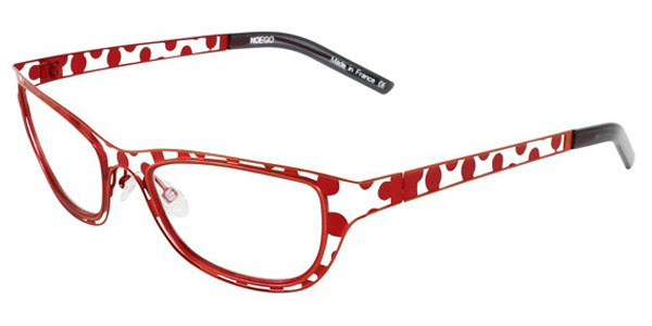 Noego Semi-Cat-Eye Eyeglasses - Anatomy 7, Draw 2, Ecaille ...