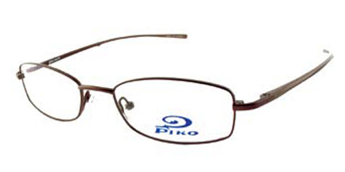 Eyeglass Frames Honolulu : Piko womens Metal Semi-Rectangle Eyeglasses - Honolulu ...
