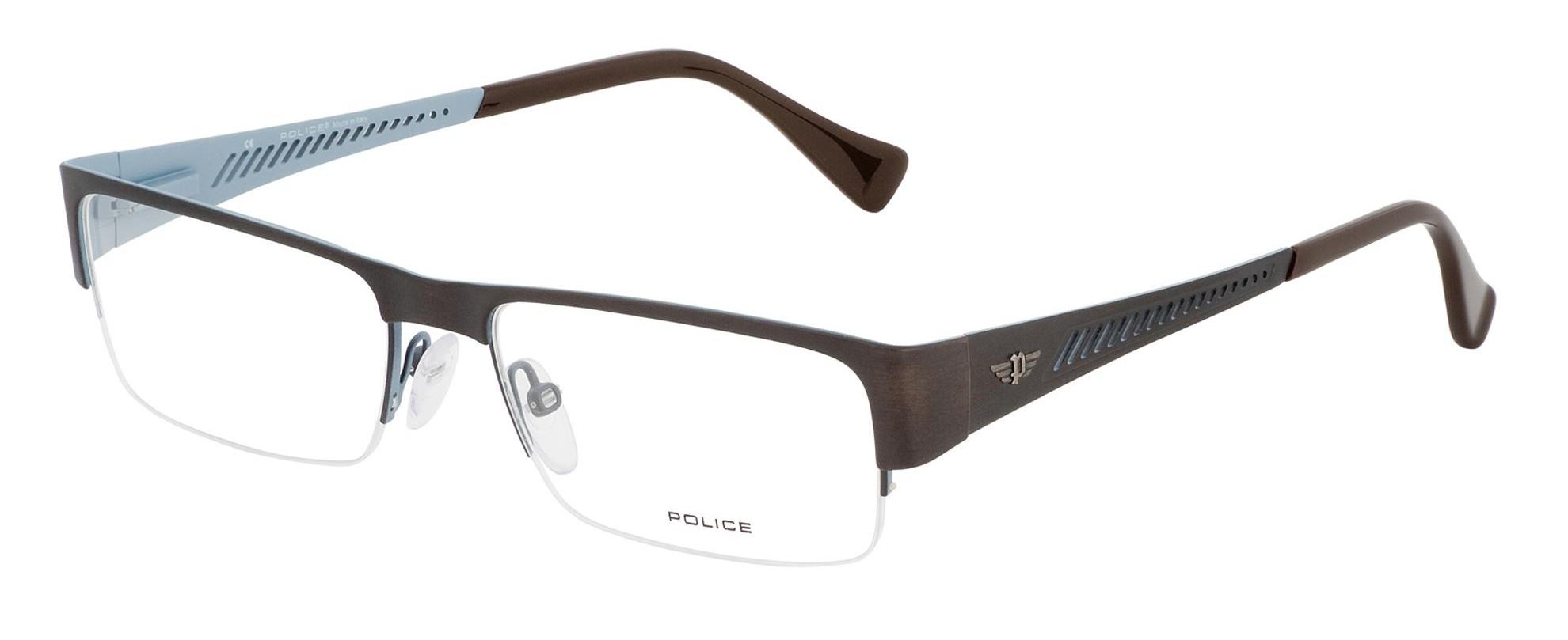 Optical Glasses Police : Police Rimless Eyeglasses - Police V1770, Police V1770M ...