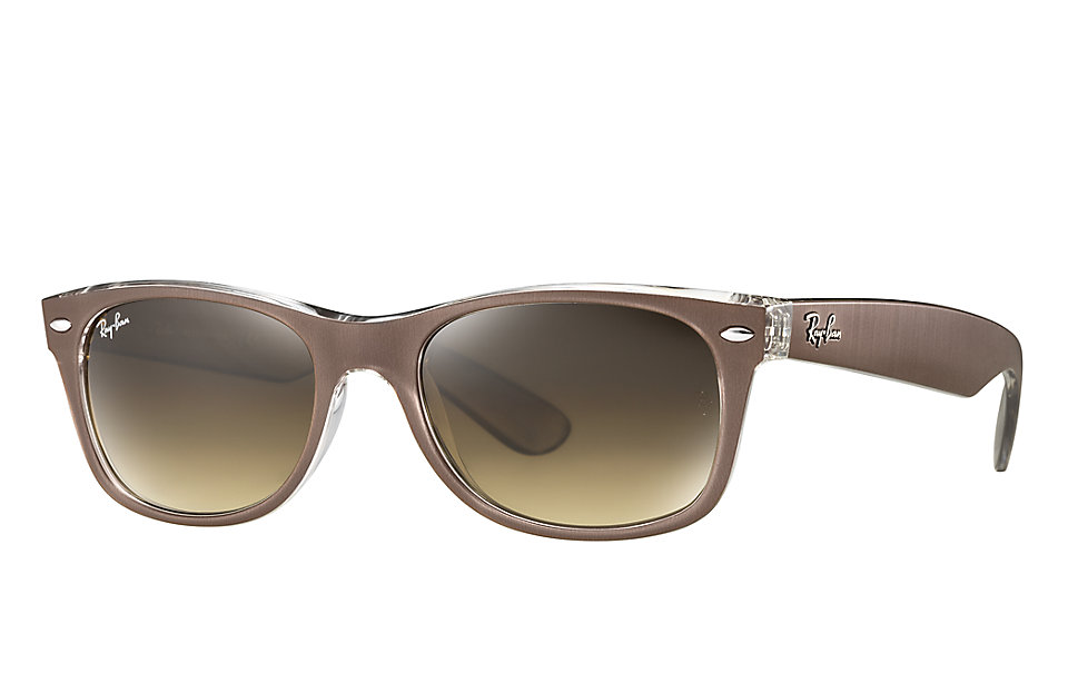 ray ban limited edition aviator metal sunglasses  ray ban rb 2132 new wayfarer metal effect sunglasses
