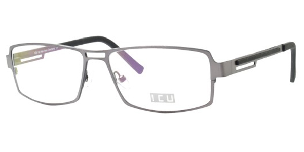 Top Look German Eyewear womens Metal Semi-Rectangle ...
