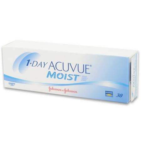 ACUVUE 1-Day Moist 30 pack Contact Lenses