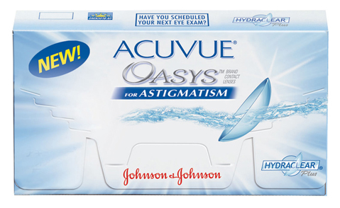 ACUVUE� OASYS� for Astigmatism Contact Lenses
