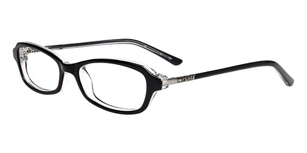 womens Plastic semi-rectangle Eyeglasses - Eyesize: 46 ...